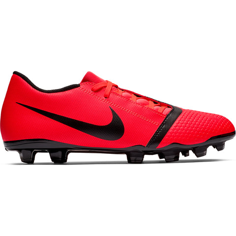 NIKE UNISEX PHANTOM ACADEMY FG BRIGHT CRIMSON/BLACK/BRIGHT CRIMSON SOCCER CLEAT