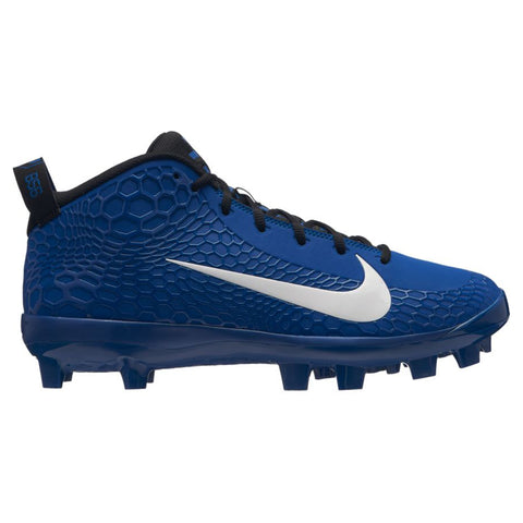 NIKE MEN'S FORCE TROUT 5 PRO MCS BASEBALL CLEAT BLUE/WHITE