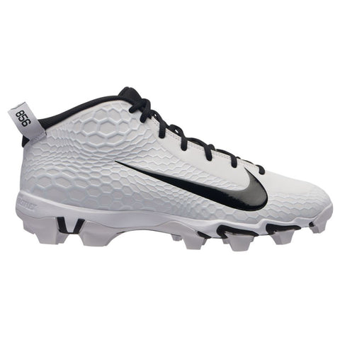 NIKE MEN'S FORCE TROUT 5 PRO KEYSTONE BASEBALL CLEAT WHITE/BLACK