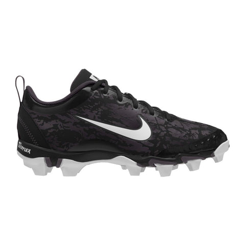 NIKE WOMEN'S HYPERDIAMOND 2.5 KEYSTONE BLACK/WHITE BASEBALL CLEAT