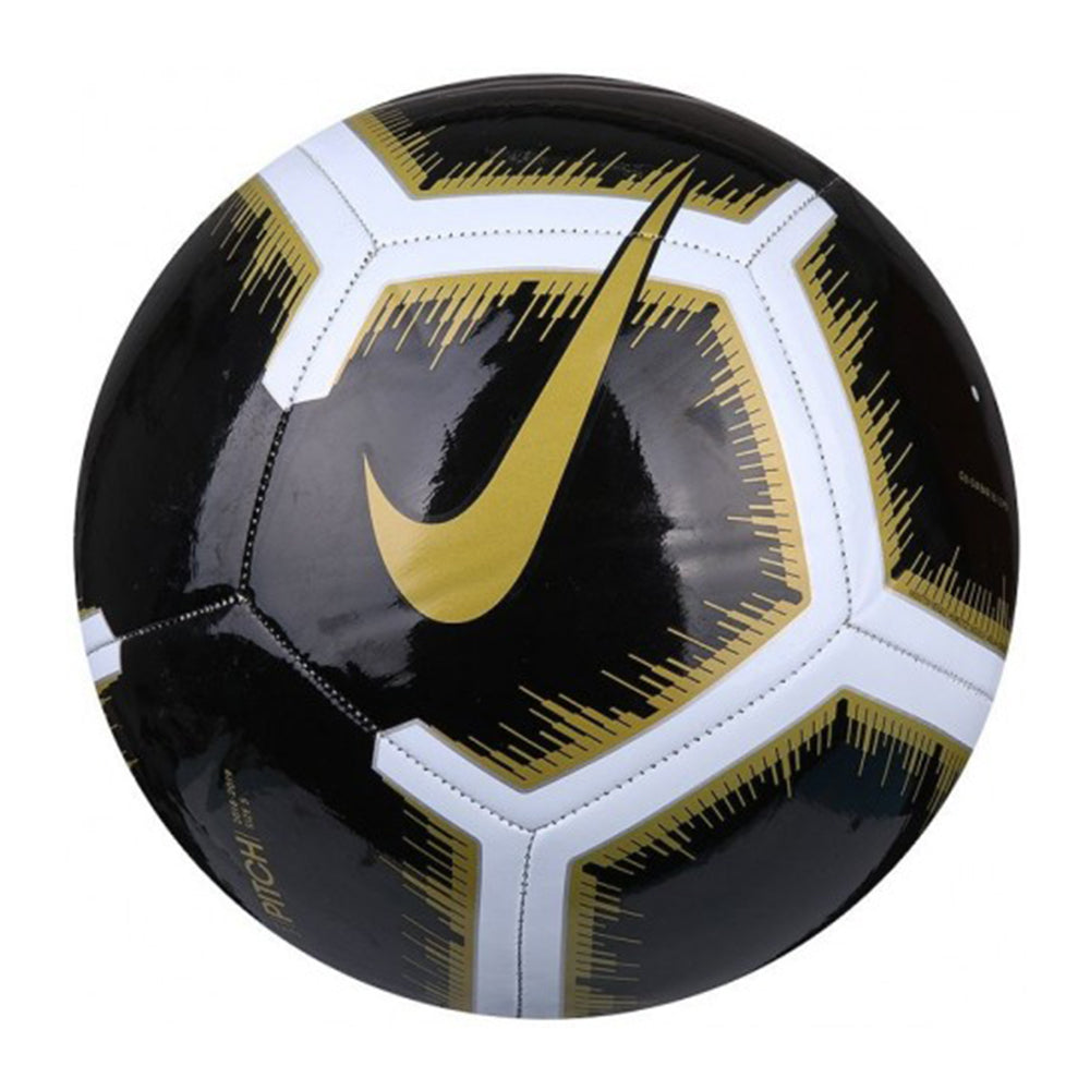 b1fa025cf NIKE PITCH BLACK/GOLD SIZE 4 SOCCER BALL – National Sports