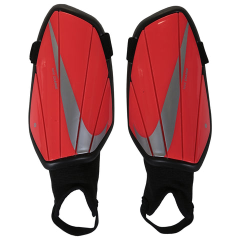NIKE YOUTH CHARGE GUARD CRIMSON SOCCER SHINGUARD
