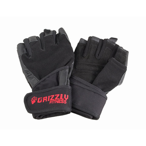 GRIZZLY MEN'S NYTRO WRIST WRAP TRAINING GLOVE