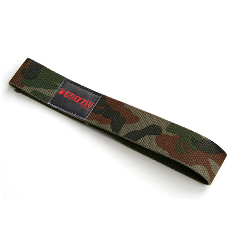 GRIZZLY WIDE 1.5 INCH CAMO LIFTING STRAPS
