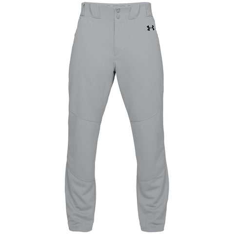 UNDER ARMOUR MEN'S UTILITY RELAXED GREY BASEBALL PANT