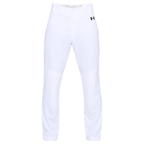 UNDER ARMOUR MEN'S UTILITY RELAXED WHITE BASEBALL PANT