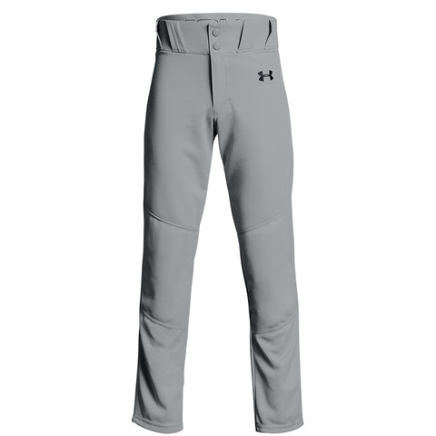 UNDER ARMOUR YOUTH UTILITY RELAXED GREY BASEBALL PANT
