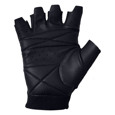 UNDER ARMOUR MEN'S BLACK TRAINING GLOVE