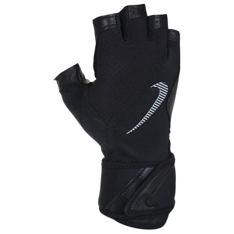 NIKE MENS' ELEVATED TRAINING GLOVE GRAY/VOLT