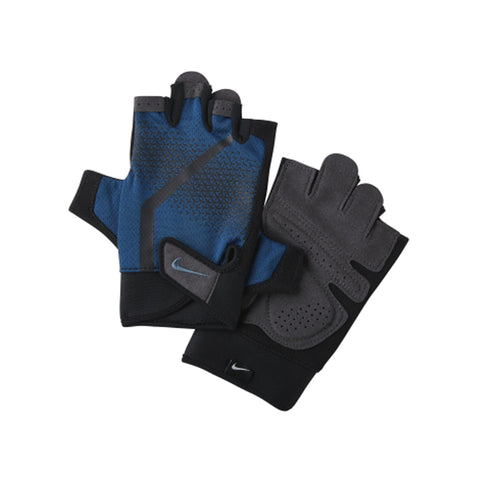 NIKE MEN'S EXTREME FITNESS GLOVE BLUE/GRAY