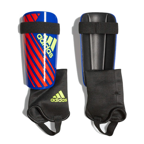 ADIDAS X CLUB BLUE/RED SOCCER SHINGUARD