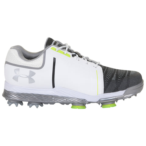 UNDER ARMOUR WOMEN'S TEMPO SPORT WHITE STEEL GOLF SHOE
