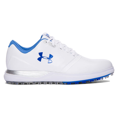 UNDER ARMOUR WOMEN'S PERFORMANCE SL WHITE MEDITERRANEAN GOLF SHOE