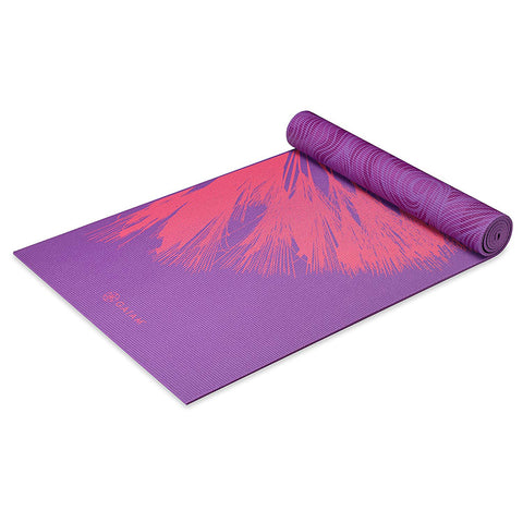 GAIAM 6MM PREMIUM DANDELION ROAR YOGA MAT
