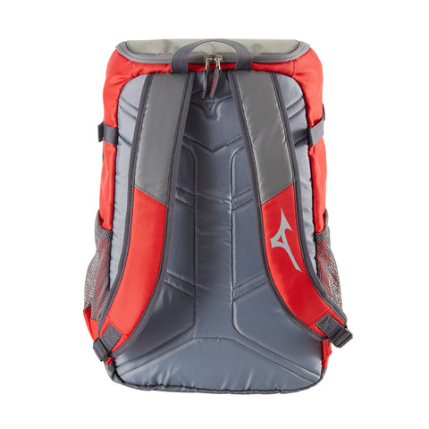 MIZUNO OG5 BACKPACK RED/GRAY