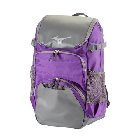 MIZUNO OG5 BACKPACK PURPLE/GRAY