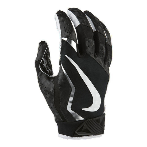 NIKE VAPOR JET 4.0 BLACK / WHITE FOOTBALL GLOVE