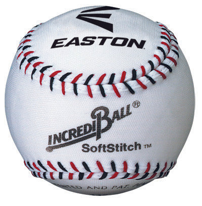 EASTON SOFTSTITCH TRAINING BALL 9 INCH WHITE