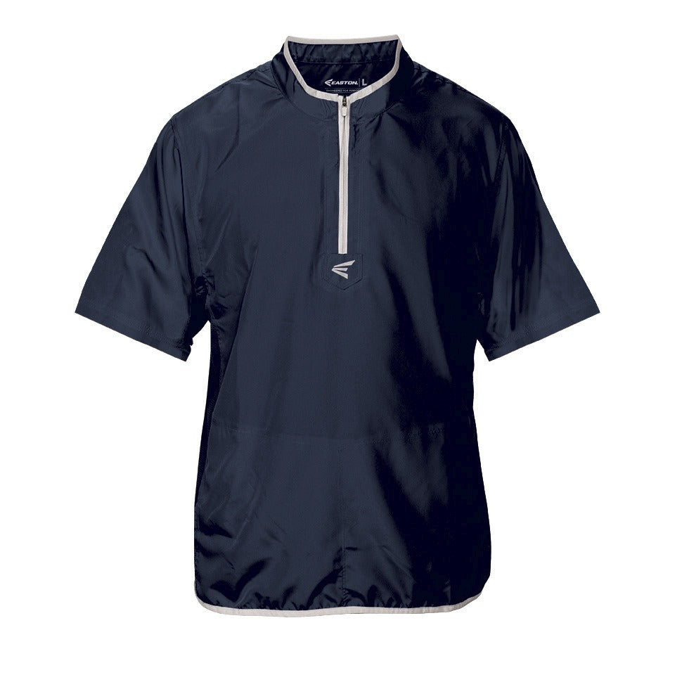 7352977e EASTON M5 SHORT SLEEVE CAGE JACKET NAVY – National Sports