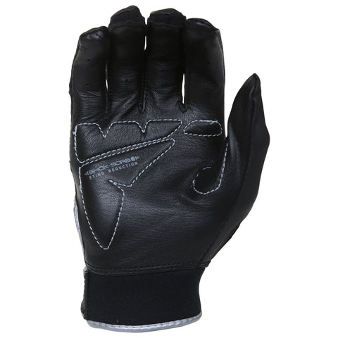 FRANKLIN YOUTH SHOK-SORB BLACK BATTING GLOVE