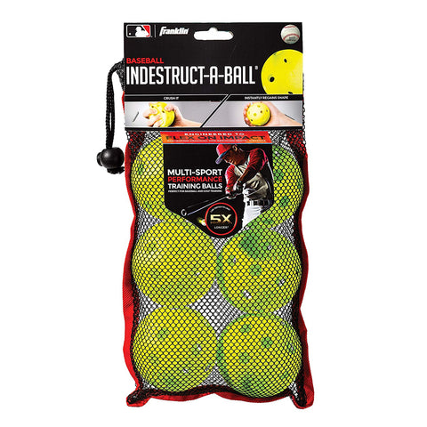 FRANKLIN INDESTRUCT-A-BALL BASEBALL 9 INCH OPTIC
