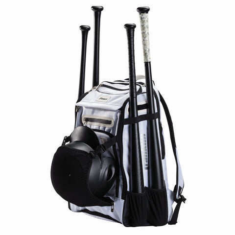 FRANKLIN TRAVELER ELITE CHROME BACKPACK WHITE