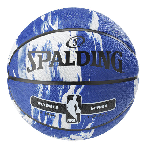 SPALDING MARBLE SERIES BLUE SIZE 7 BASKETBALL