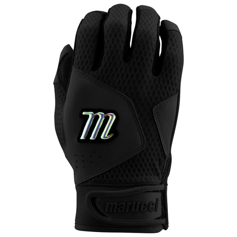 MARUCCI QUEST BLACK BATTING GLOVES