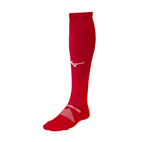 MIZUNO DIAMOND OTC SOCK RED