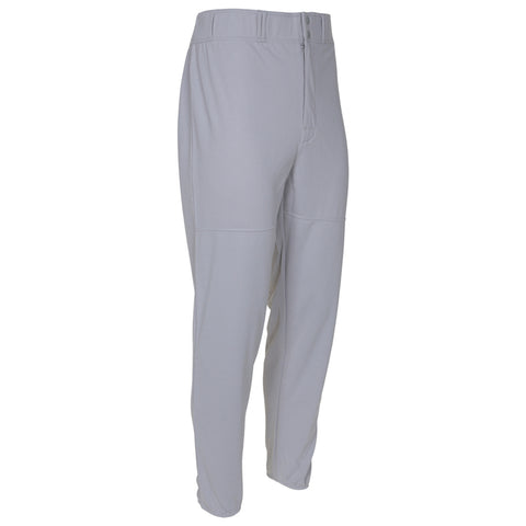 LOUISVILLE MENS GREY LONG BASEBALL PANT WITH ELASTIC ANKLE