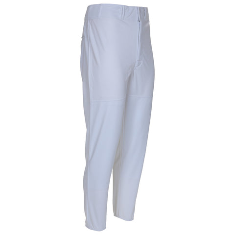 LOUISVILLE MENS  WHITE LONG BASEBALL PANT WITH ELASTIC ANKLE