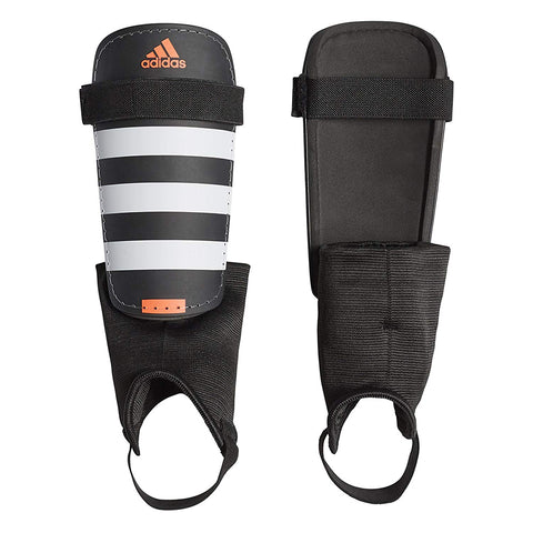 ADIDAS EVERCLUB BLACK/WHITE/SOLAR RED SHINGUARD