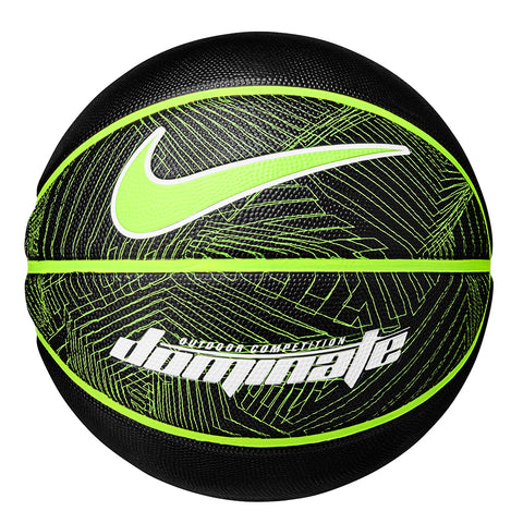 NIKE DOMINATE 8P BLACK/VOLT BASKETBALL