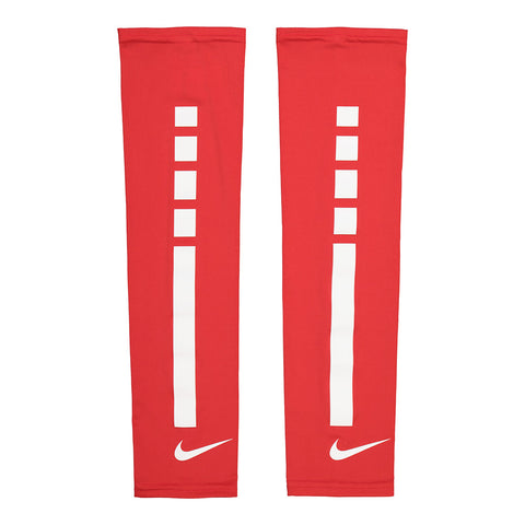 NIKE PRO ELITE SLEEVES RED/WHITE