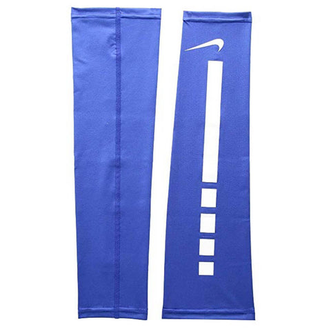 NIKE PRO ELITE ROYAL/WHITE ARM SLEEVES