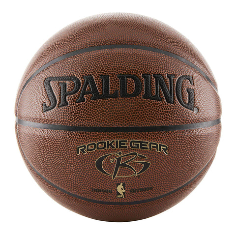 SPALDING ROOKIE GEAR BROWN SIZE 5 BASKETBALL