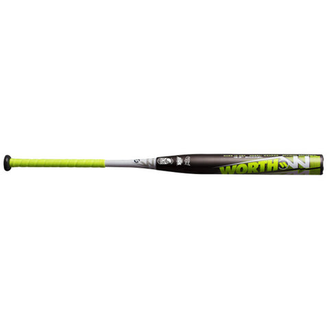 WORTH 2019 WICKED PURCELL 2XL USSSA SLOWPITCH BAT