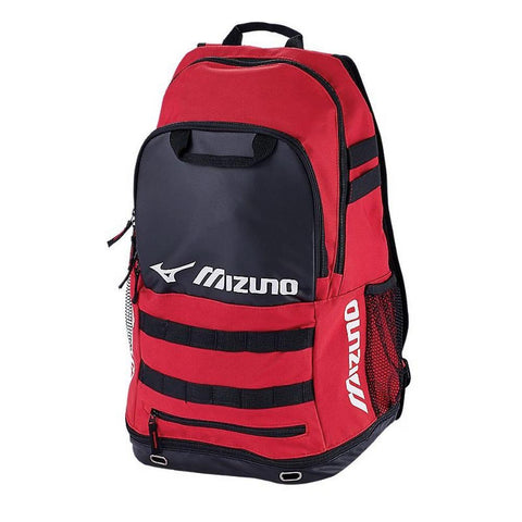 MIZUNO TEAM ELITE CROSSOVER BACKPACK RED/BLACK