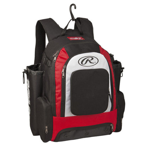 RAWLINGS COMRADE SCARLET BACKPACK