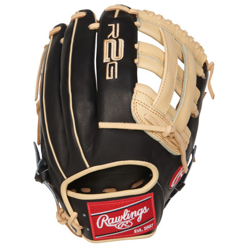 RAWLINGS PROR207-6BCHEART OF THE HIDE R2G SERIES 12.25 INCH PRO H-WEB BASEBALL GLOVE RIGHT HAND THROW
