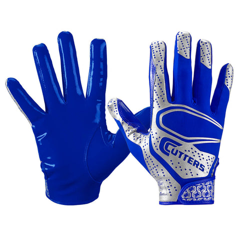 CUTTERS YOUTH S251 REV 2.0 ROYAL FOOTBALL GLOVE