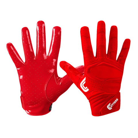 CUTTERS S251 REV 2.0 RED FOOTBALL GLOVE