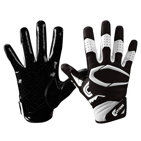 CUTTERS S451 REV PRO 2.0 BLACK FOOTBALL GLOVE
