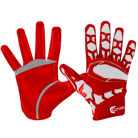 CUTTERS S541 REV PRO 3D 2.0 RED FOOTBALL GLOVE