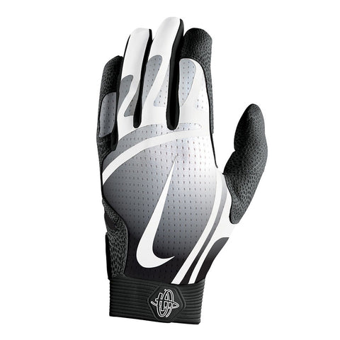 NIKE HUARACHE PRO BLACK/BLACK/WHITE BATTING GLOVES