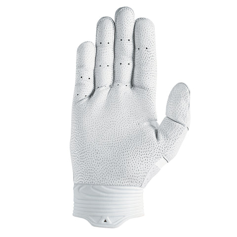 NIKE HUARACHE PRO WHITE/WHITE/BLACK BATTING GLOVES