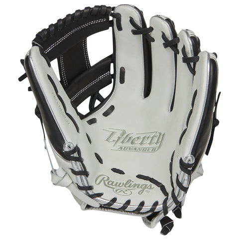 RAWLINGS LIBERTY ADVANCED COLOR SYNC 2.0 11.75 INCH PRO I-WEB WHITE/BLACK F