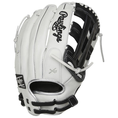 RAWLINGS LIBERTY ADVANCED COLOR SYNC 2.0 13 INCH PRO H-WEB WHITE/BLACK SOFTBALL GLOVE RIGHT HAND THROW