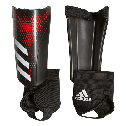ADIDAS PREDATOR MATCH JUNIOR BLACK/RED SHINGUARD