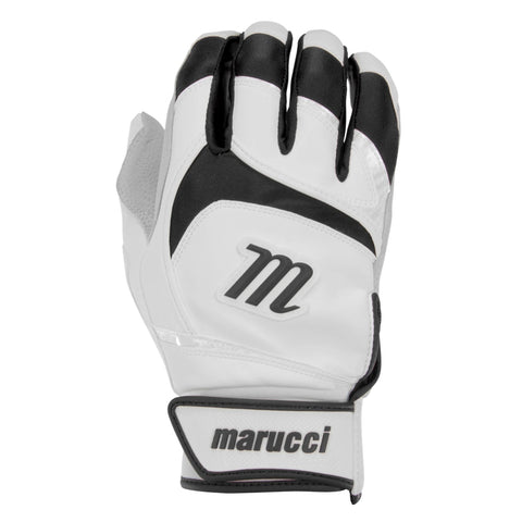 MARUCCI SIGNATURE WHITE/BLACK BATTING GLOVES